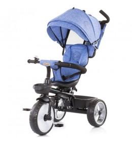 Tricikl za decu 5 u 1 Tempo Blue Linen
