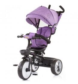 Tricikl za decu 5 u 1 Tempo Purple Linen