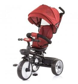 Tricikl za decu 5 u 1 Tempo Red Linen