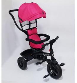 Tricikl za decu Model 01 sa rotirajućim sedištem Pink