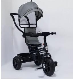 Tricikl za decu Model 01 sa rotirajućim sedištem Siva