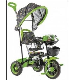 Tricikl za decu Robotić Crno-Zeleni