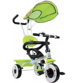Tricikl  zeleni  sa tendom i ručkom