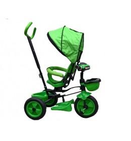 Tricikl sa rotirajucim sedistem,model 405 zeleni