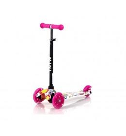 Trotinet Lorelli mini pink Flowers