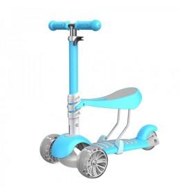 Trotinet Soft za decu Model 653 - Plavi