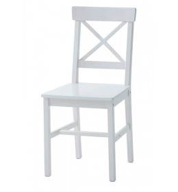 Trpezarijska stolica  bela W