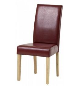 Trpezarijska stolica BY crvena