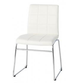 Trpezarijska stolica Square bela