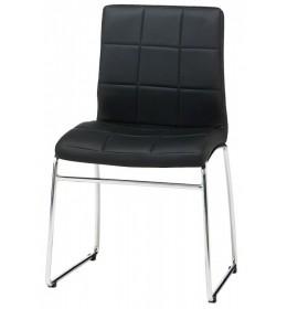 Trpezarijska stolica Square crna