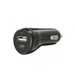 Trust adapter brzi auto punjac USB-C&USB za telefone i tablete