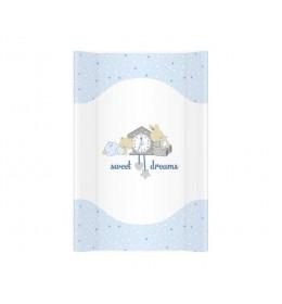 Tvrda Podloga za Presvlačenje Beba Sweet Dreams Blue 70cm
