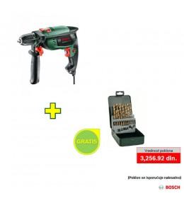 Električna udarna bušilica Bosch UniversalImpact 700 + poklon