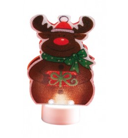 Ukrasna novogodišnja sveća Irvas LED 10cm CDM3/16