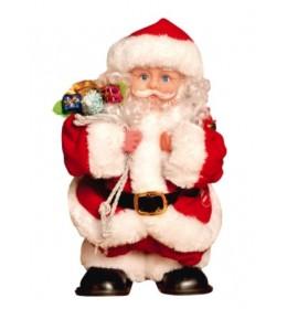 Ukrasni Deda Mraz koji šeta visine 30cm  KDS30