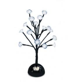 Ukrasno drvo sa belim LED diodama 38cm KAD18