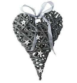 Ukrasno srce pleteno