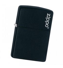 Upaljač Zippo Black Matte with Zippo Logo