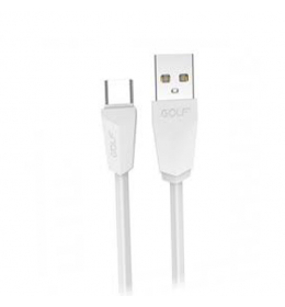 USB kabl na tip C usb 1m GOLF GC-27T beli