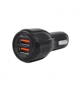 USB punjač iz upaljača automobila QC3.0+3.1A Prosto