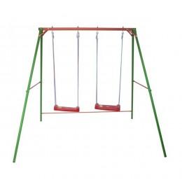 Velika ljuljaška za decu - metalna konstrukcija 120x160x200