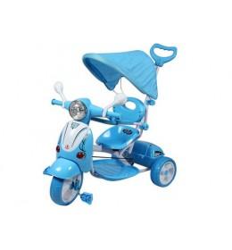 Tricikl sa tendom 410 plavi