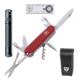 Victorinox nož Traveller sa kožnom futrolom