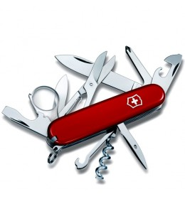 Victorinox nož Explorer  91mm RED