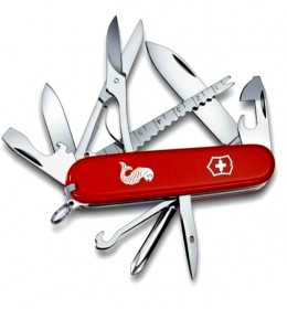 Victorinox nož Fisherman 91mm RED