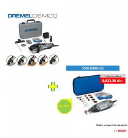 Dremel sekač DSM 20 + poklon