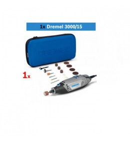 Višenamenski alat DREMEL 3000 sa 15 kom pribora