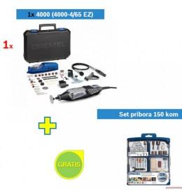 Višenamenski alat DREMEL 4000 sa 65 kom pribora + poklon