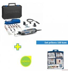 Višenamenski alat DREMEL 4300 3/45 sa 45 kom pribora sa poklonom