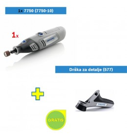 Višenamenski alat Dremel 7750-10 + poklon Drška za detalje (577)