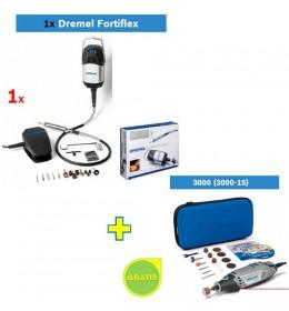 Višenamenski alat DREMEL Fortiflex + Dremel 3000 (3000-15) GRATIS
