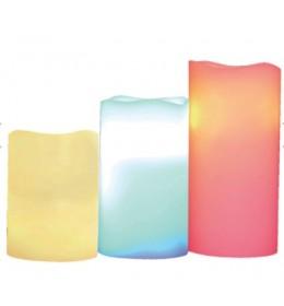 Voštane sveće sa LED diodama CDR3/M
