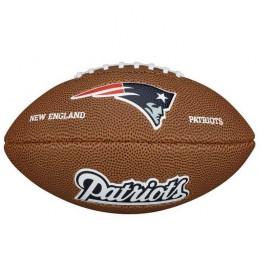 Lopta za ragbi NFL New England Patriots Mini WTF1533XBNE