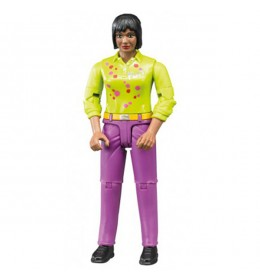 Figura žena roze jeans Bruder