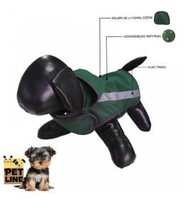 Kabanica za psa Yorkshire terrier XS