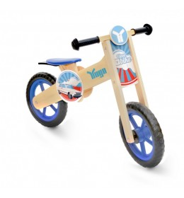 Balans Bicikl Bike Wooden Yugo Blue