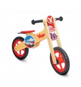 Balans Bicikl Bike Wooden Yugo Red