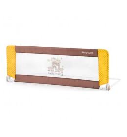 Zaštitna ograda za krevet-Beige & Yellow Happy Family