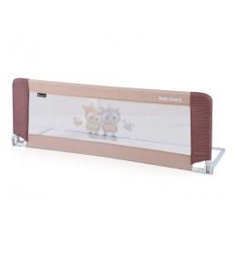 Zaštitna ograda za krevet Beige Baby Owls
