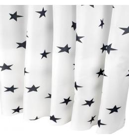 Zavesa za kadu BLACK STAR 150 cm x 200 cm