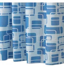 Zavesa za kadu BLUE SQUARE 150 cm x 200 cm