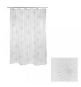 Zavesa za kadu bela SUN 180 cm x 230 cm