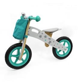 Balance Bike 755 Bicikl bez pedala za decu Zeleni
