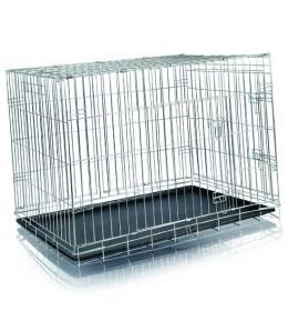 Žičani kavez-transporter za psa  116 × 86 × 77cm