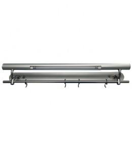 Zidna fluo svetiljka srebrna kuhinjska T5 8W G5  ELS3008
