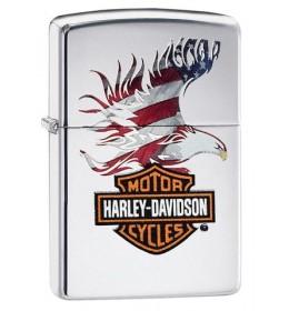 Zippo upaljač Harley-Davidson American Flag